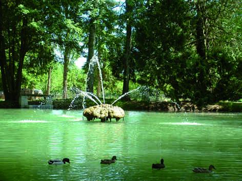 Le parc des Fontaines