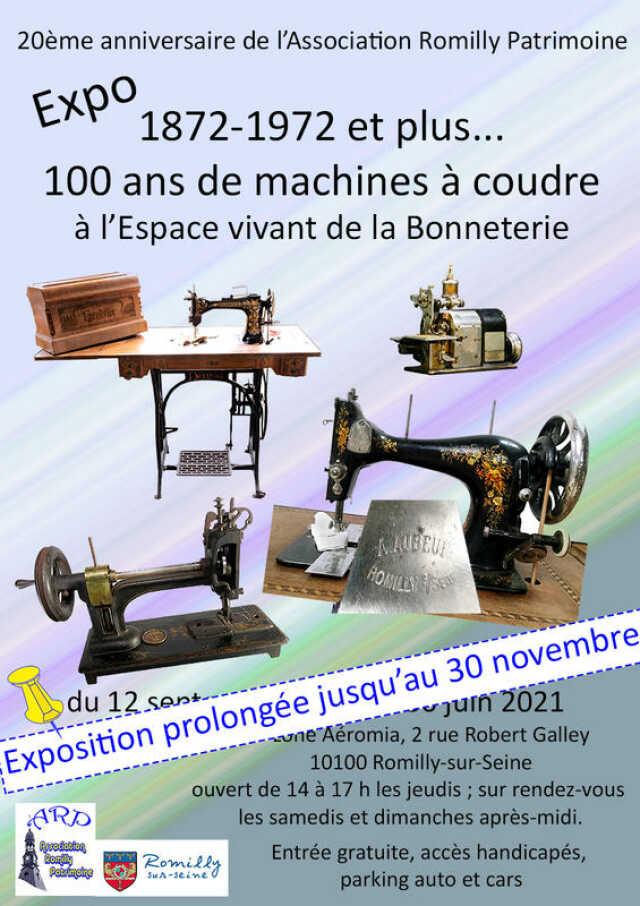 Exposition - 100 ans de machines à coudre
