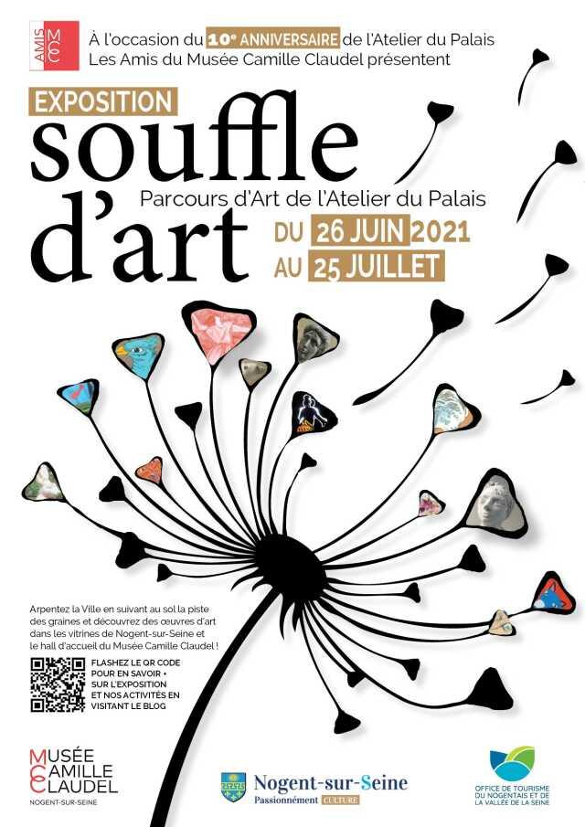 Exposition souffle d'art - Les Amis du Musée Camille Claudel