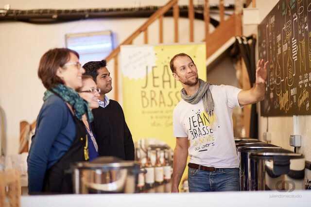 ATELIER FABRICATION DE BIÈRES ARTISANALES - JEAN BRASSE