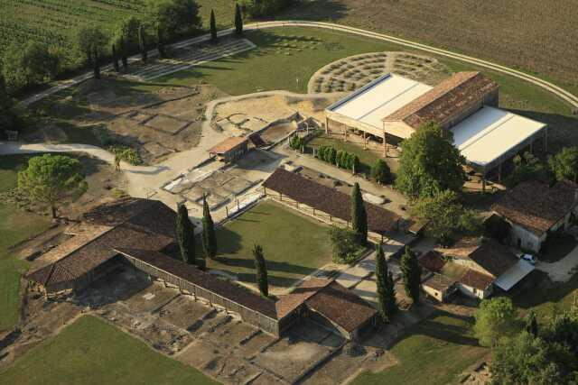 ABBAYE DE FLARAN - EXPOSITION LA VILLA DE SEVIAC, LA FIN D'UN MONDE (IV°-VII°s)