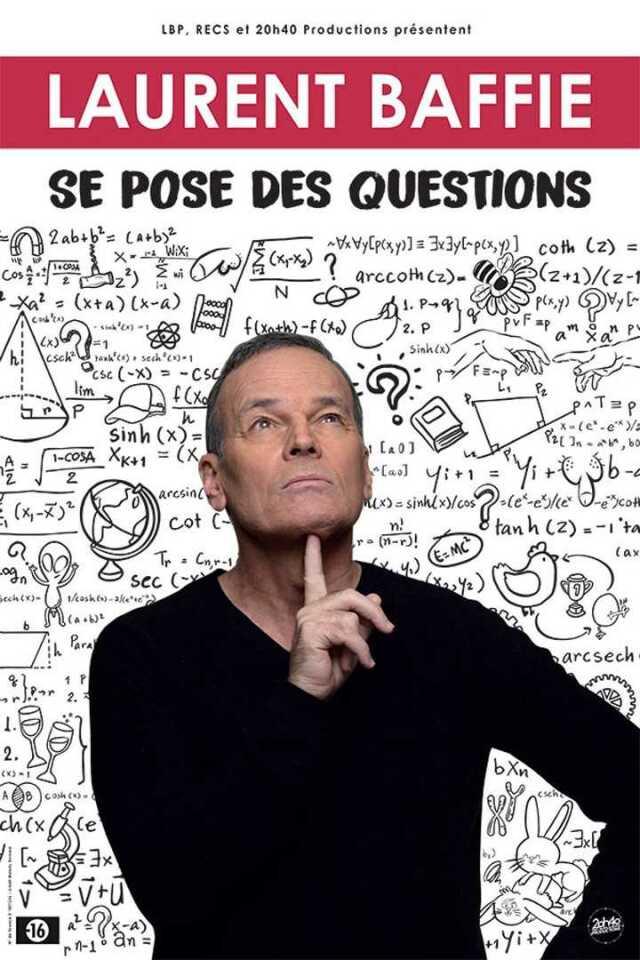 Humour : Laurent Baffie se pose des questions