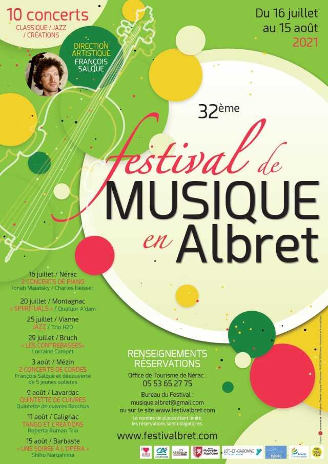 Festival de musique en Albret : Roberta Roman Trio