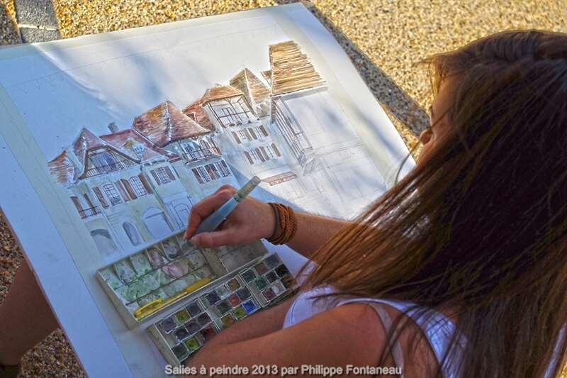 Salies à Peindre - Concours de Peinture et Sculptures sur fer