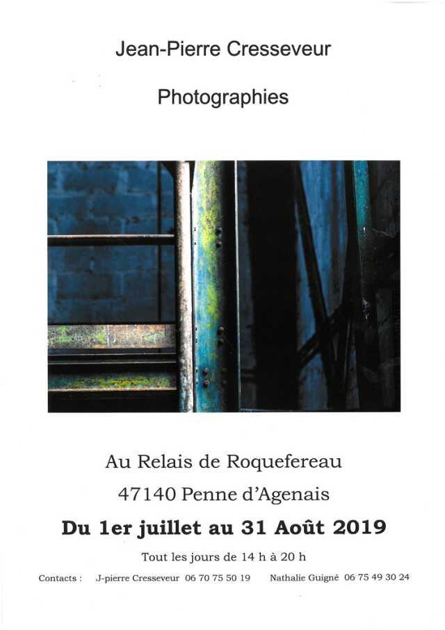 Exposition photographies Jean-Pierre CRESSEVEUR