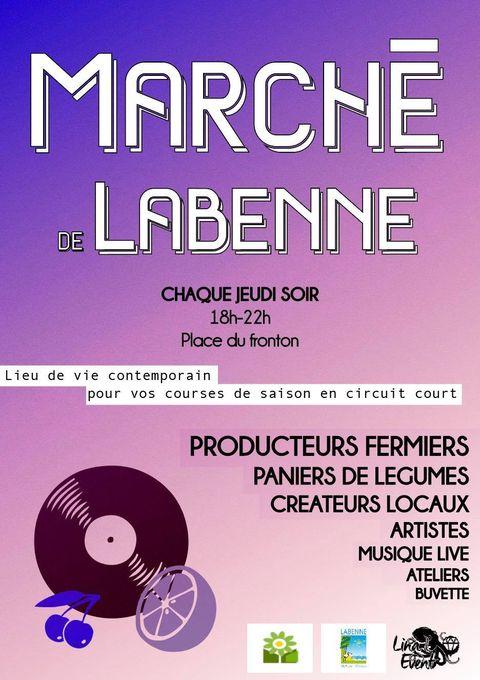 Marché de Labenne
