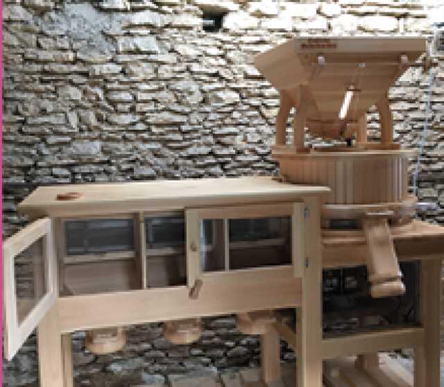 Découverte des terroirs : visite d'un atelier de transformation de céréales