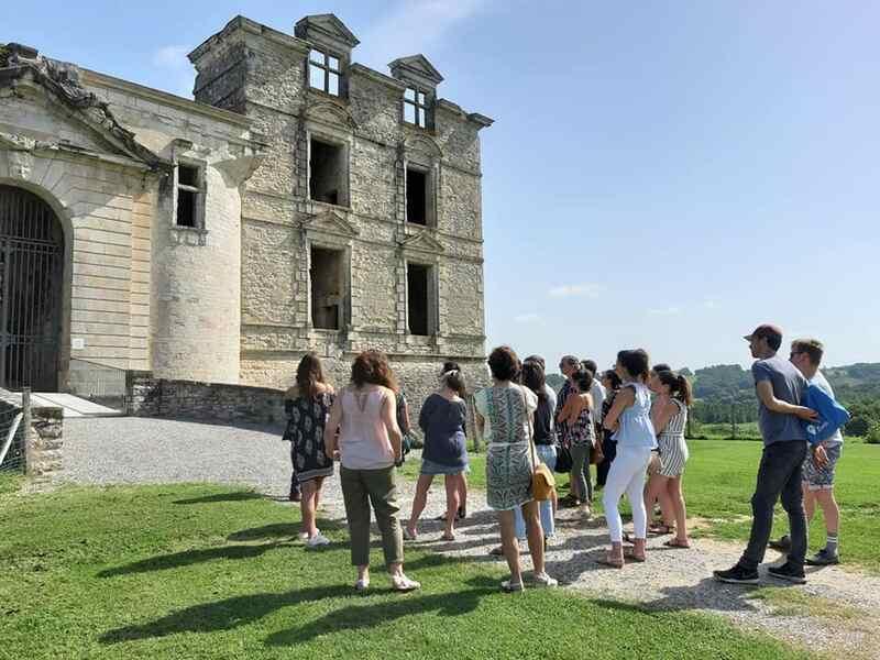 Visite du château de Gramont