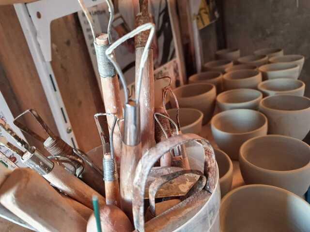 Atelier d'initiation poterie enfants
