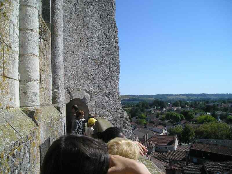 Visite de Saint-Astier : petite ville au grand clocher !