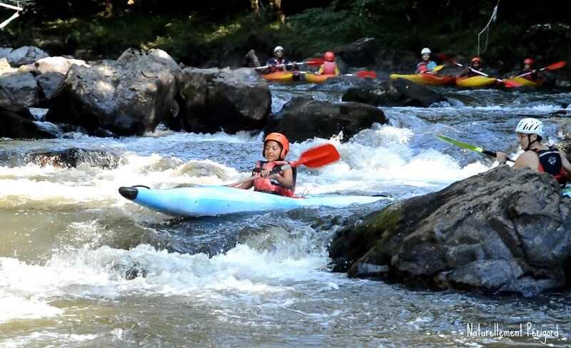 Eté actif - kayak en eaux vives