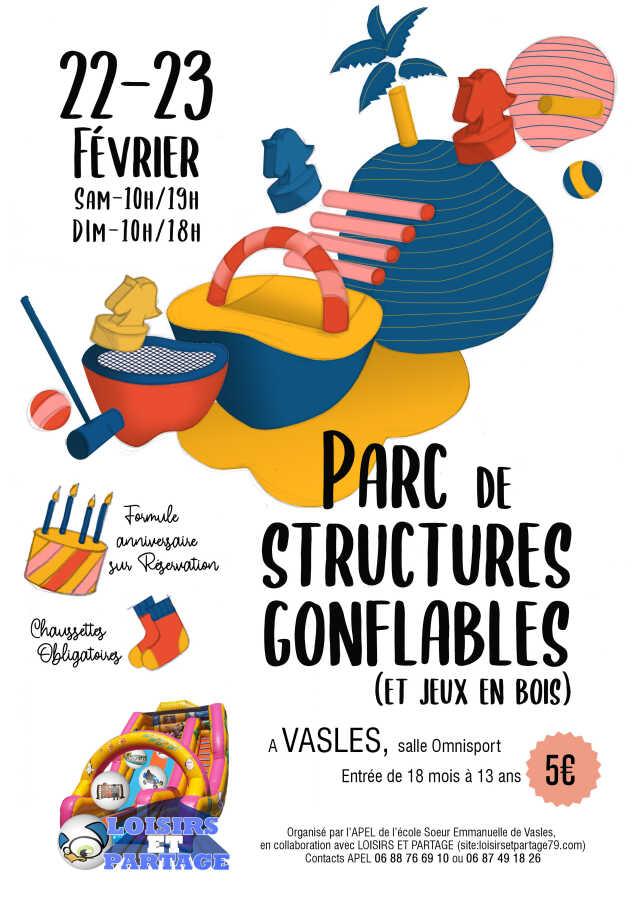 PARC DE STRUCTURES GONFLABLES
