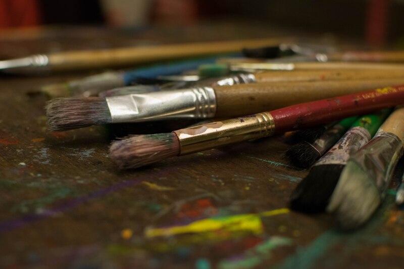 Atelier peinture avec le Petit Salon des Arts