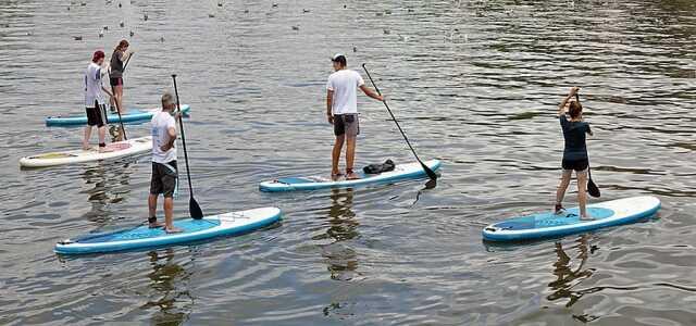 Eté actif : paddle
