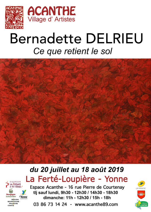 Bernadette Delrieu, peintre