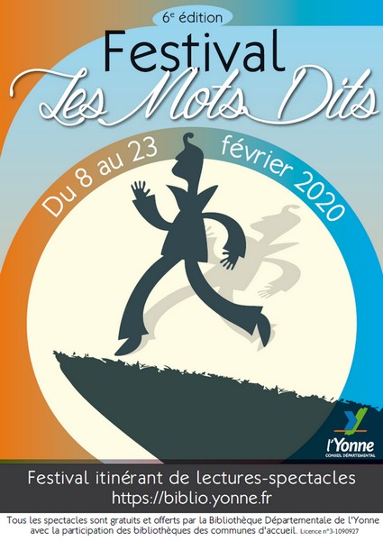 Festival Les Mots Dits - La course ou la vie ?