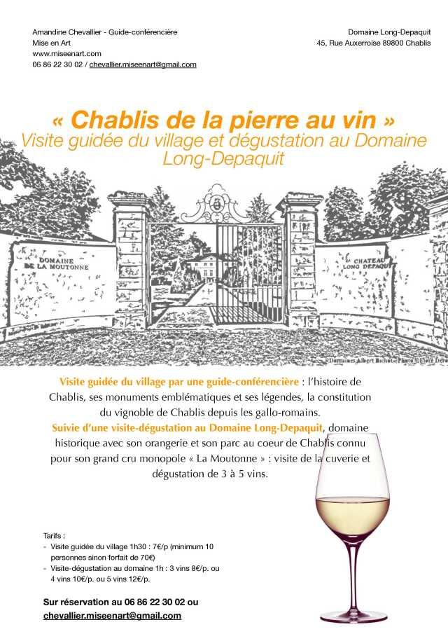 Pierre De L Yonne yonne - - chablis de la pierre au vin - visite et