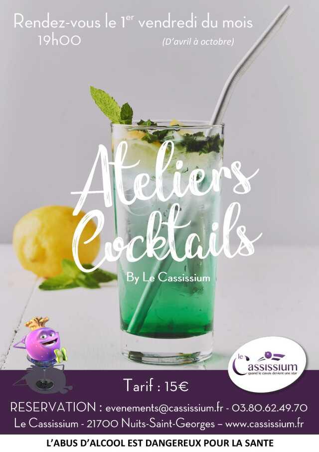 Atelier cocktails - août 2020