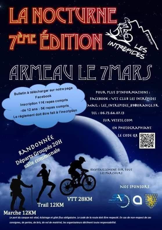 7ème édition de la Nocturne / Armeau