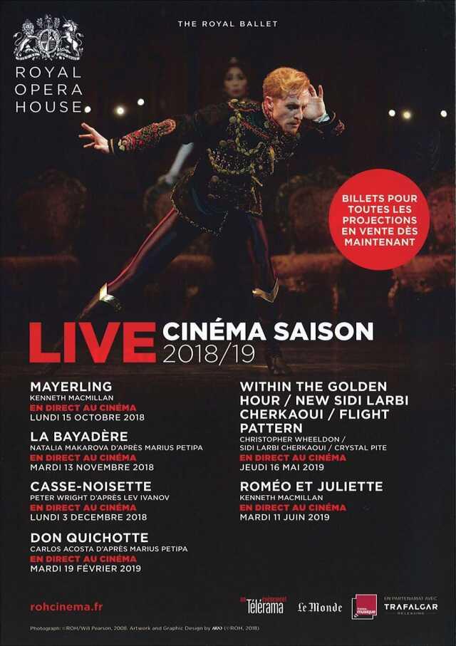 Live au cinéma