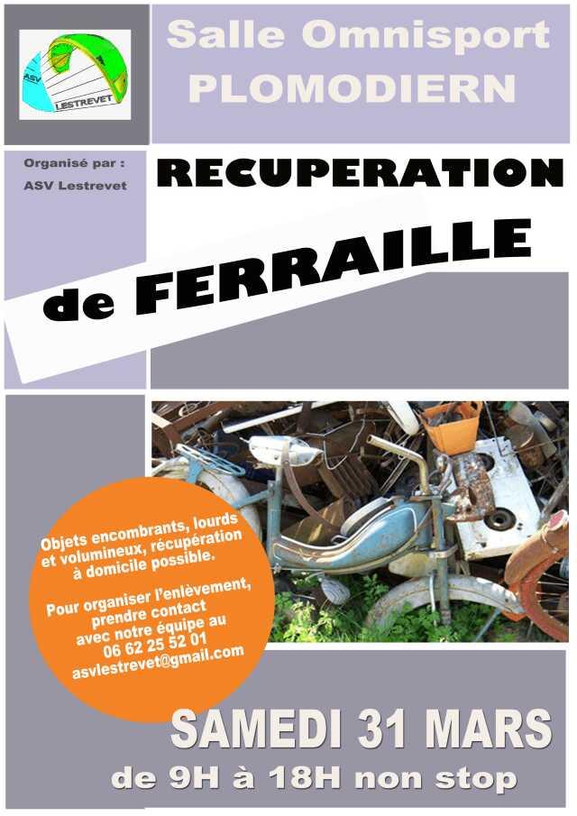 Finistère - Brocante - Vide-grenier - Récupération de ferraille