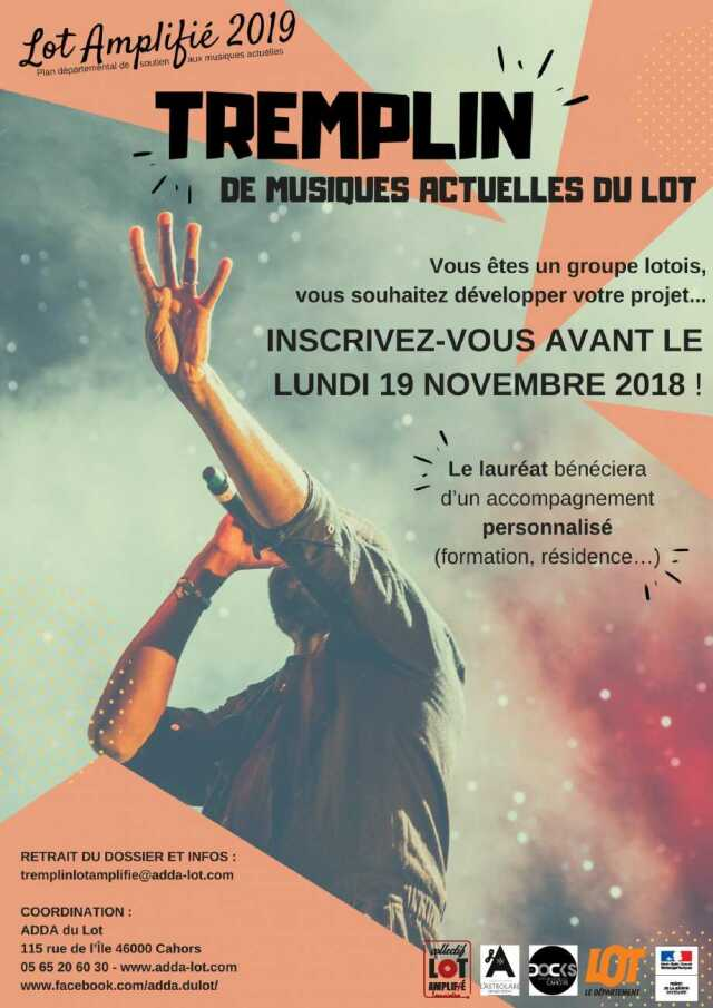 Concert : Finale du Tremplin Lot' Amplifié 2019
