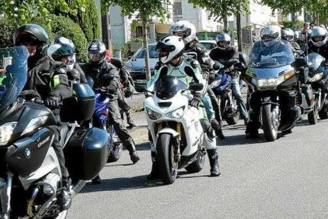 Balade moto à Guémené-sur-Scorff