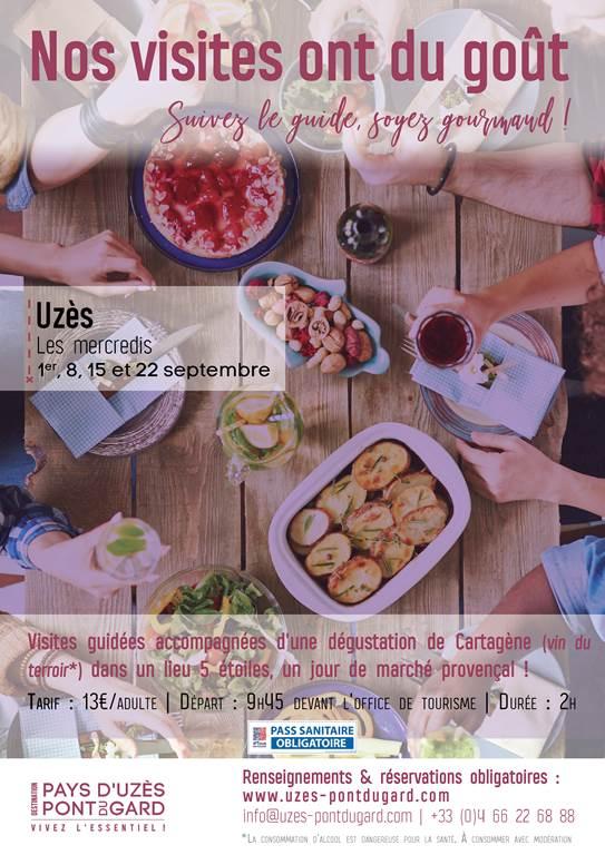 Visite guidée Balade Gourmande à Uzès