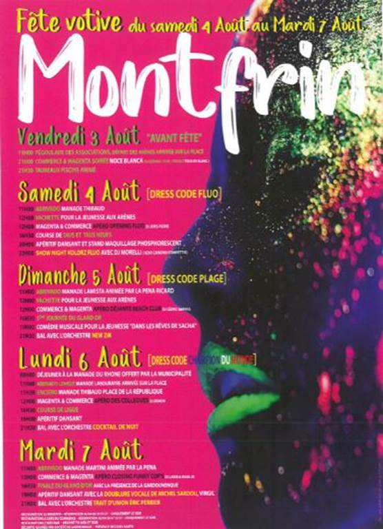 Calendrier Fete Votive 2019 Gard.Gard Danse Bal Cabaret Musique Fete Votive De