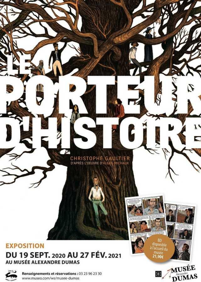 Exposition Le Porteur d'Histoire
