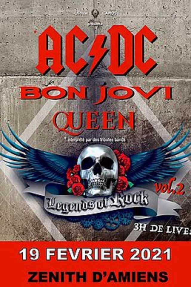 Concert : ACDC, Legends of rock