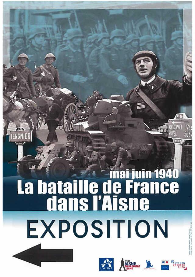 Exposition : La bataille de France dans l'Aisne en mai-juin 1940