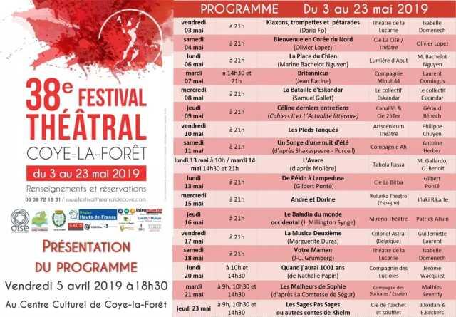 Festival de Théâtre de Coye
