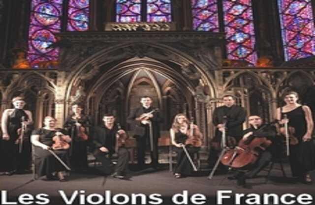 Concert :  Orchestre « Les Violons de France »