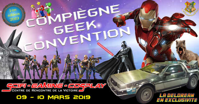 Compiègne Geek Convention