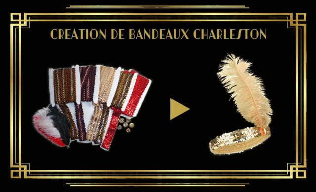 Journées Européennes du Patrimoine 2021 - Création de bandeaux Charleston