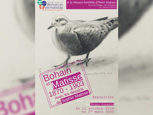 Exposition Bohain et Matisse - 1870-1903