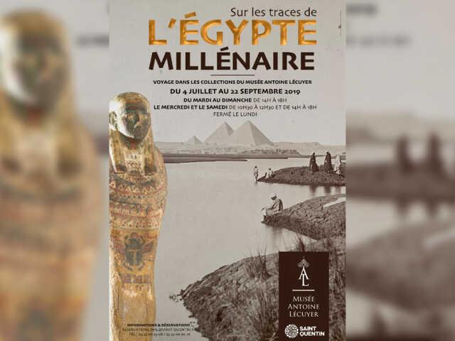 Exposition : Sur les traces de l'Egypte millénaire