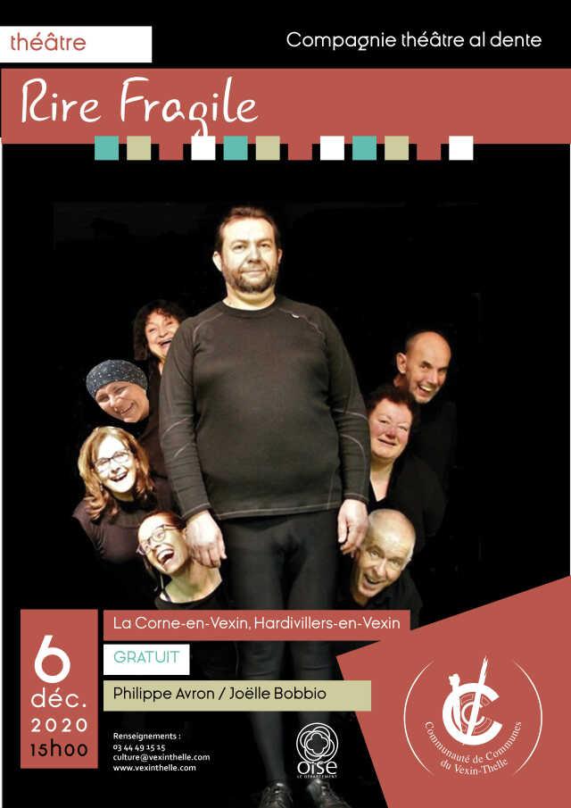 Rire fragile de Philippe Avron par la compagnie Théâtre Al Dente
