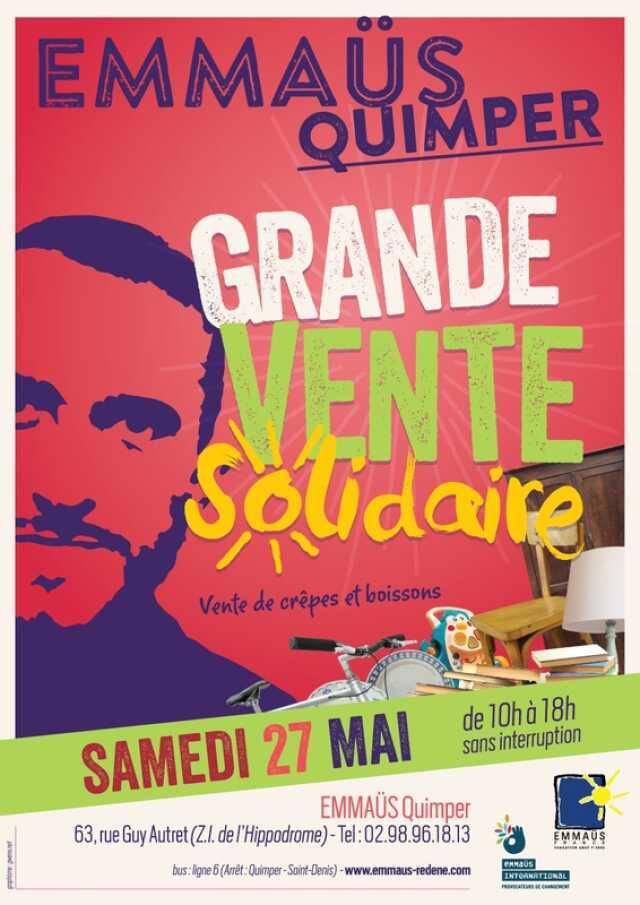Finistère Brocante Vide Grenier Grande Vente Solidaire