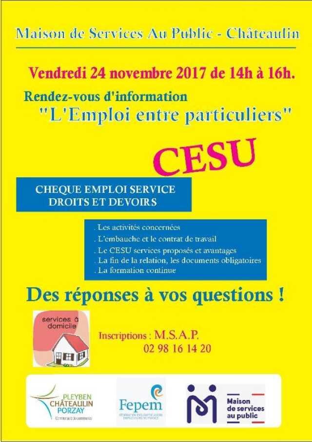 Finistere Conference Debat Reunion D Information Sur Le Cheque