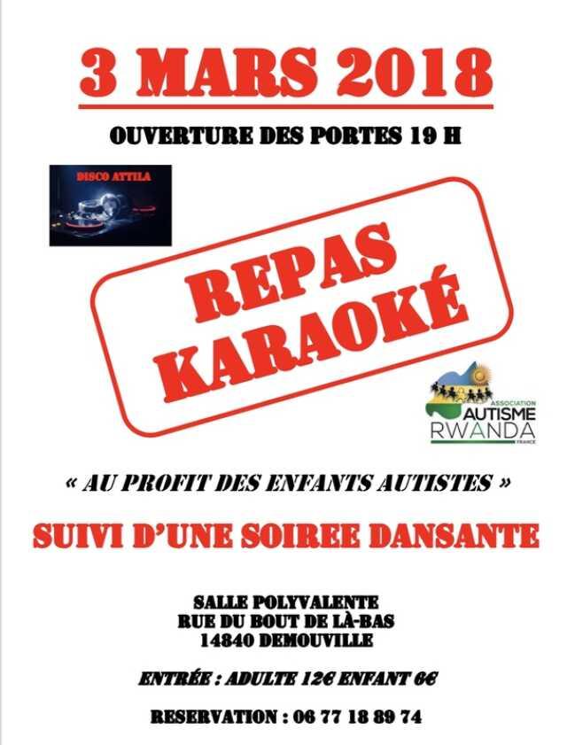Calvados Manifestation Culturelle Soiree Repas Karaoke Au