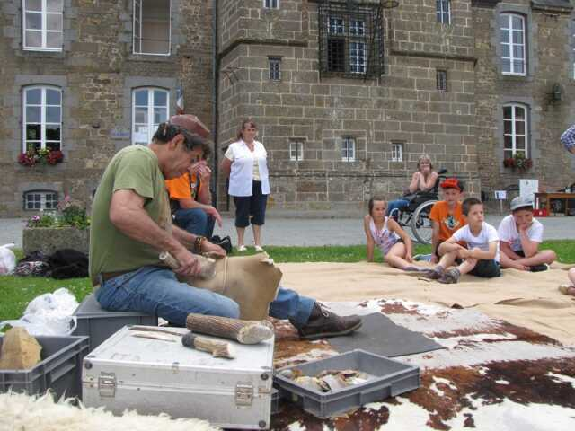 Au temps de la préhistoire au musée de la préhistoire