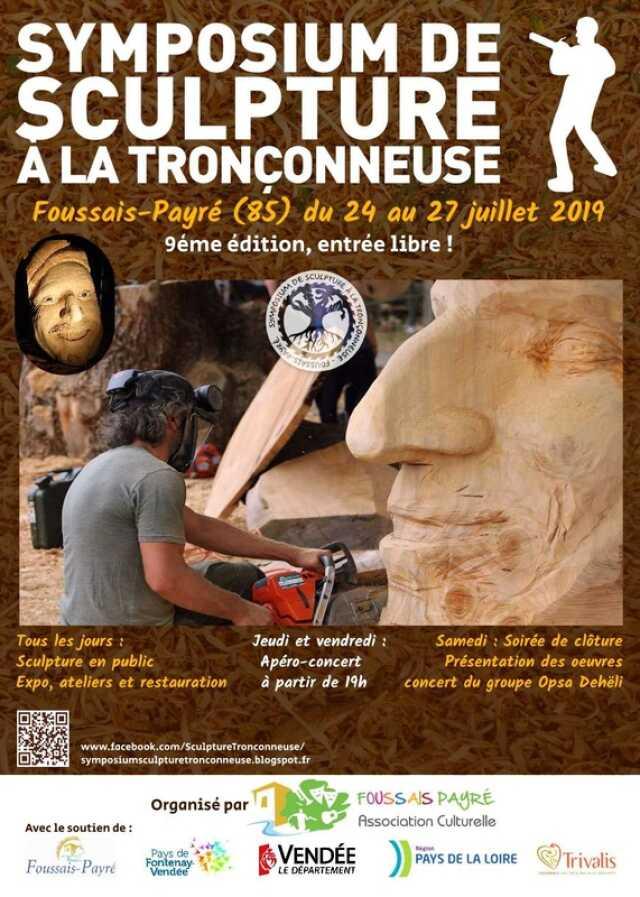 """Résultat de recherche d'images pour """"symposium sculpture tronconneuse juillet"""""""