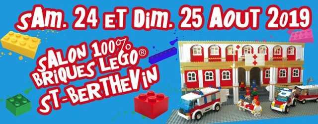Salon G la brique 2019-100 % Lego