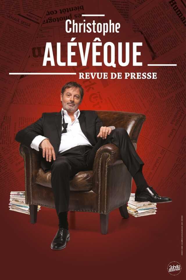 Christophe Alévêque « Revue de presse »
