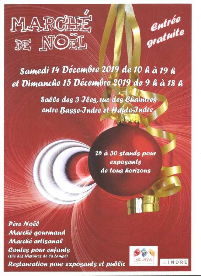 Loire Atlantique     Marché de Noël   Agenda Indre 44610