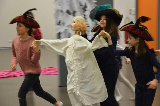 Compagnie de danse l'éventail : goûter baroque