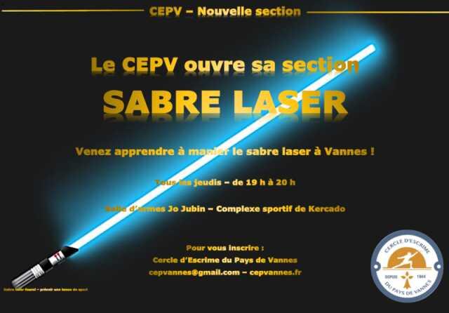 Apprendre à manier le sabre laser