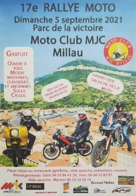 17e rallye moto - Moto Club MJC Millau